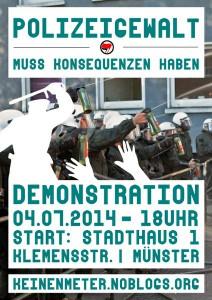 Polizeigewalt.Demo.MS